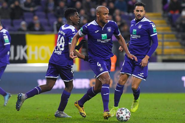 Anderlecht blijft in de running voor Play-off 1, Cercle Brugge zeker van behoud
