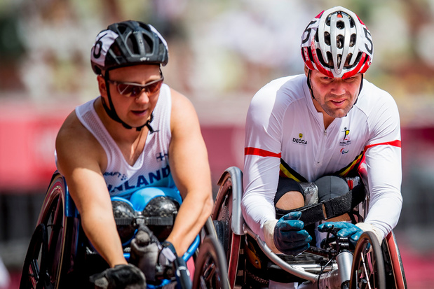 Paralympics: zilver voor Peter Genyn en brons voor Roger Habsch op 200 meter