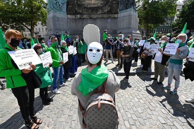 Le non-marchand rassemblé à Bruxelles pour réclamer le passage des paroles aux actes