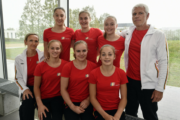 Yves Kieffer et Marjorie Heuls prolongés comme entraîneurs de Nina Derwael et des autres gymnastes jusqu'en 2024