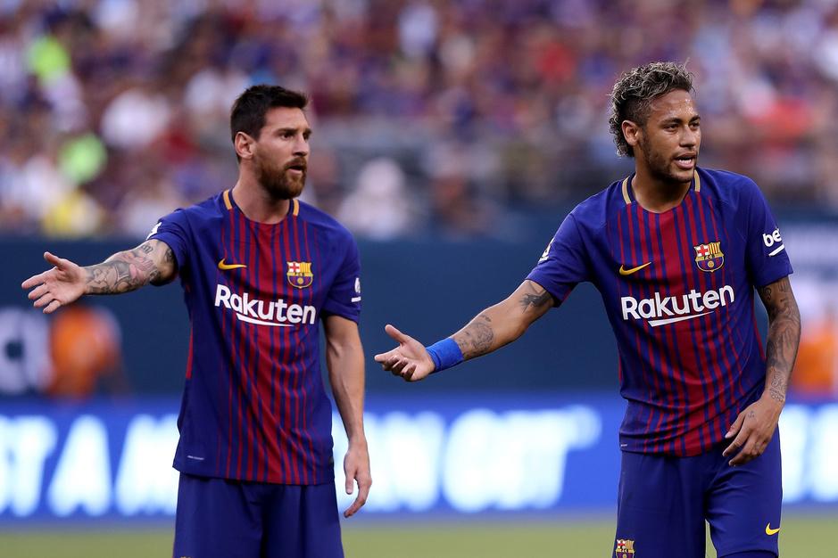 Neymar en Lionel Messi: een ongewone vriendschap
