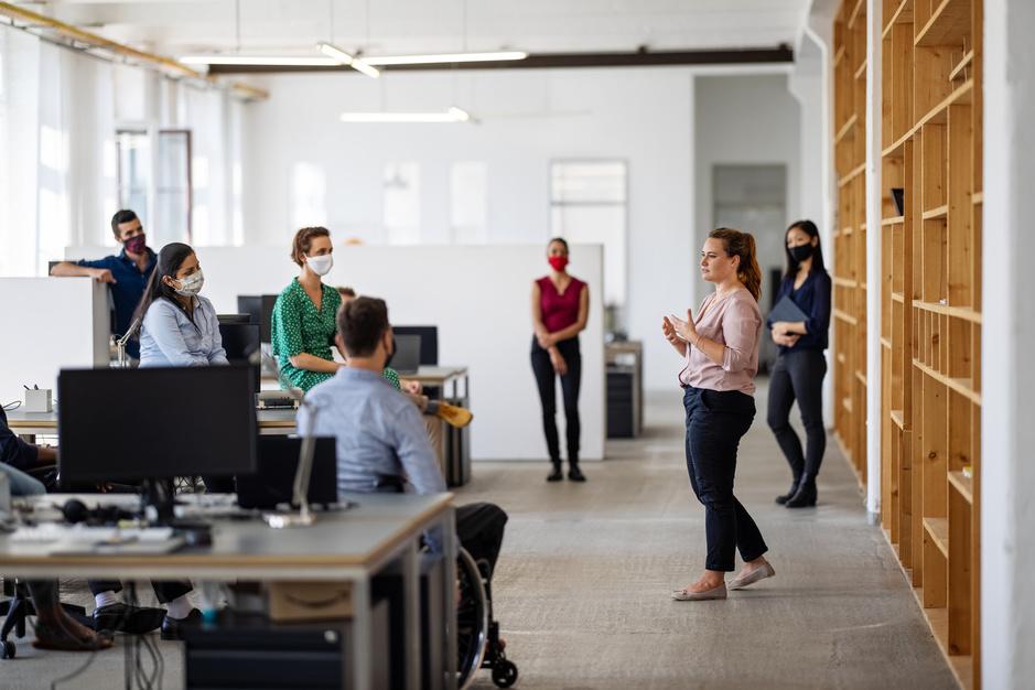 In het hybride kantoor staat welzijn voorop
