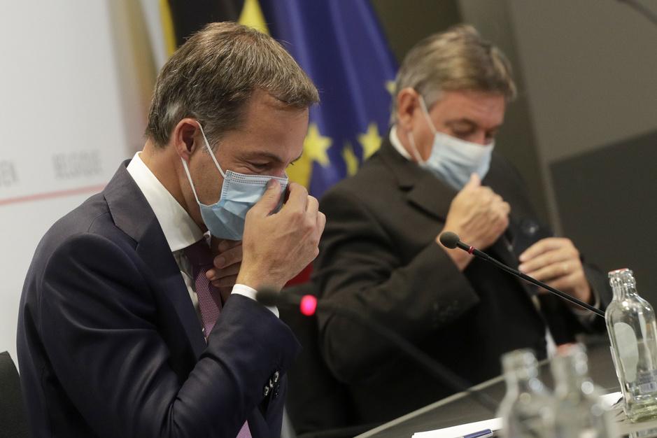 Overlegcomité: gebruik mondmasker wordt beperkt, maar misschien alleen in Vlaanderen
