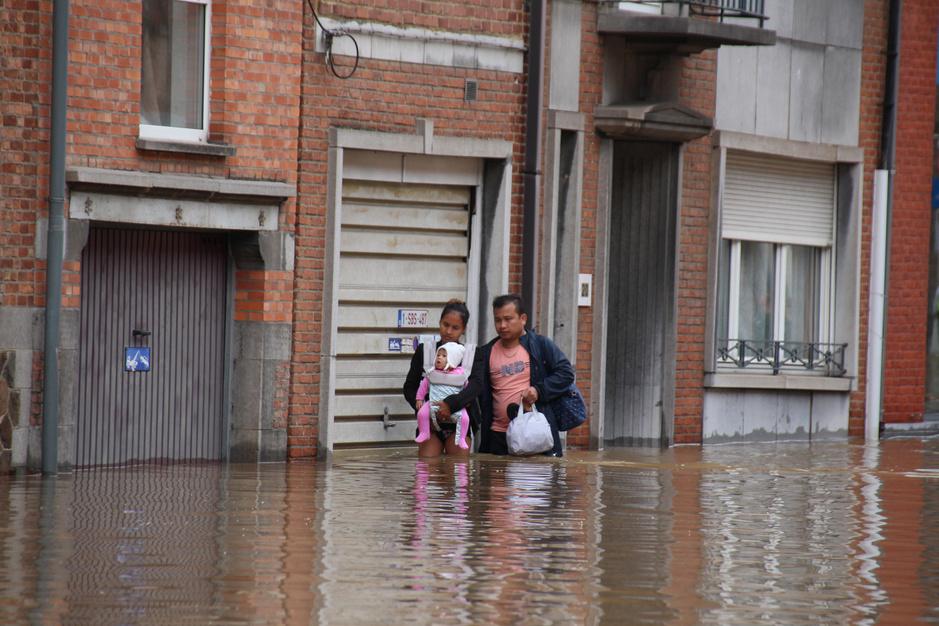 Wavre sous eau: les rues après les intempéries (photos)