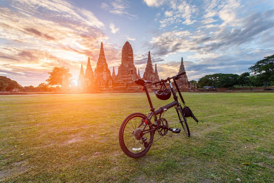Fietsen op Thaise wijze