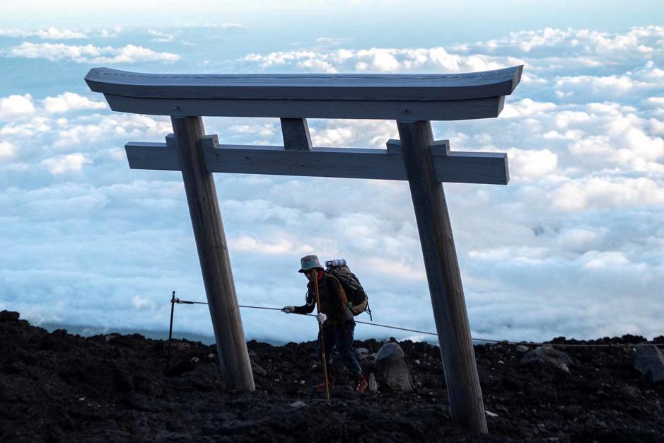 L'ascension de l'incroyable Mont Fuji (en images)