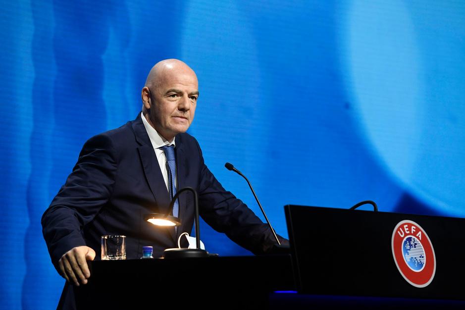'FIFA-baas Gianni Infantino zat mee achter Super League'