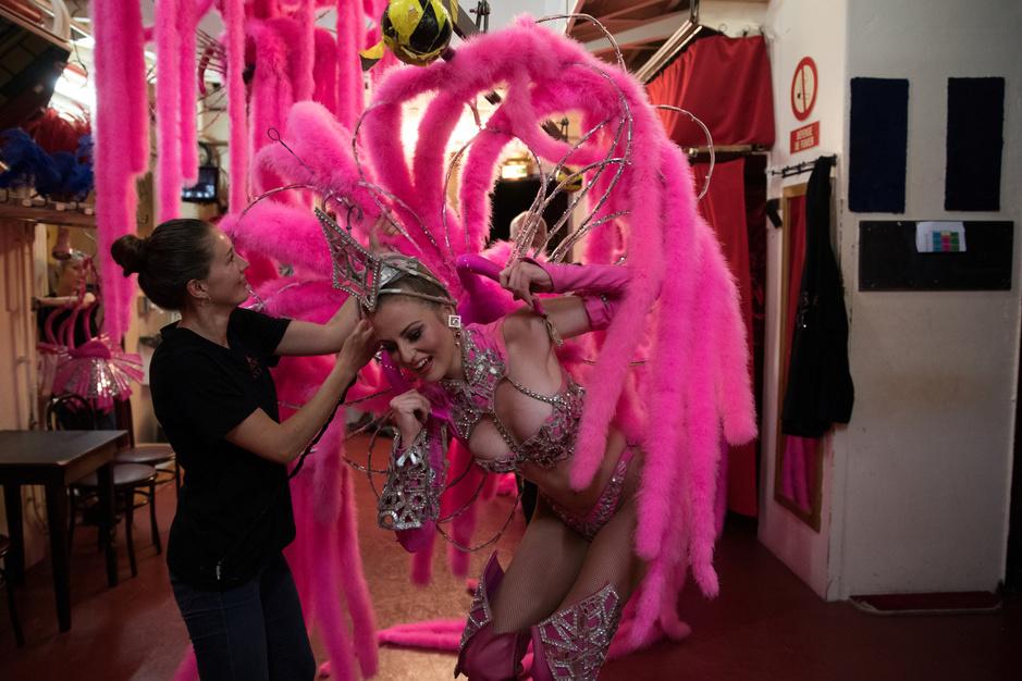 Dans les coulisses du Moulin Rouge, à l'occasion de son 130e anniversaire (en images)