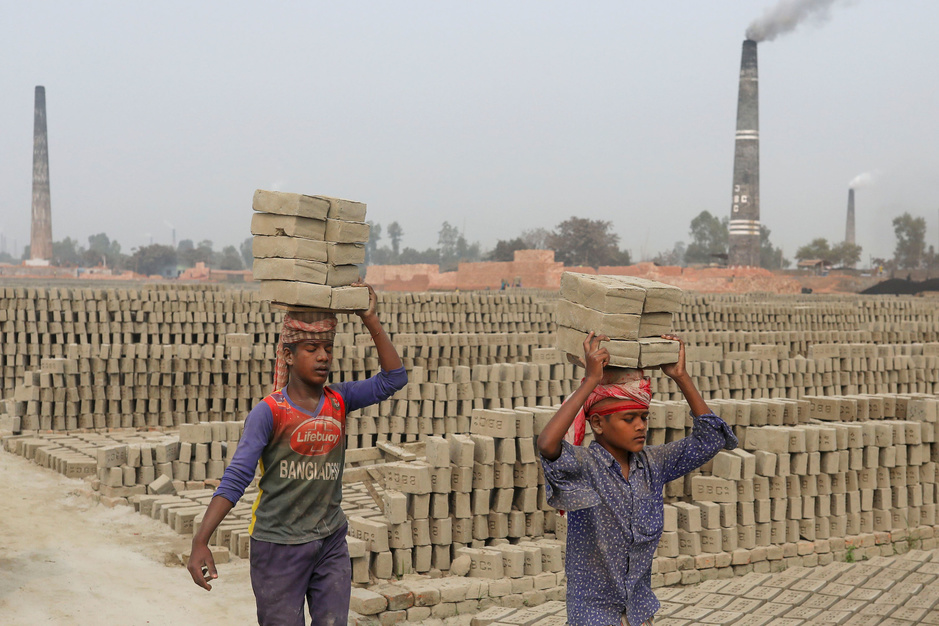 Kinderarbeid weer in opmars, vooral in de groep van vijf tot elf jaar (Unicef)