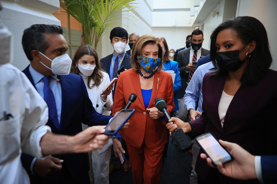 Democraten spelen hoog spel in Washington