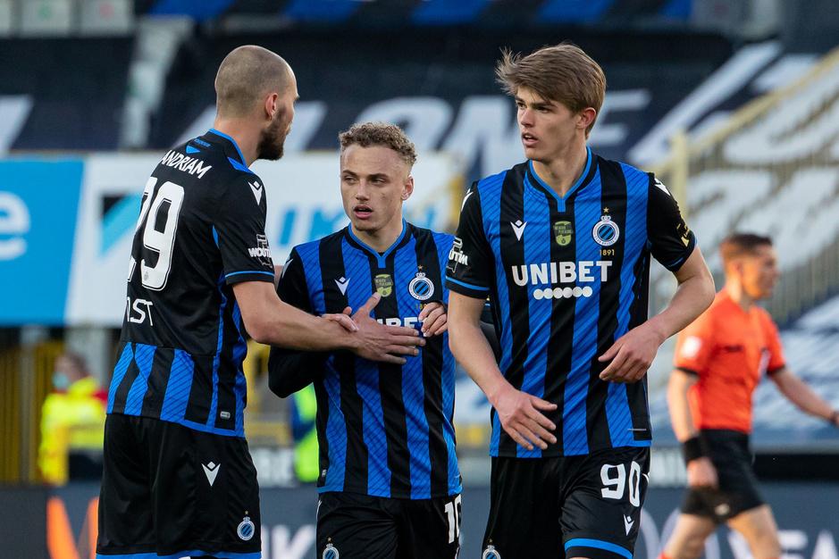Hoe Club Brugge de play-offs als labo gebruikt