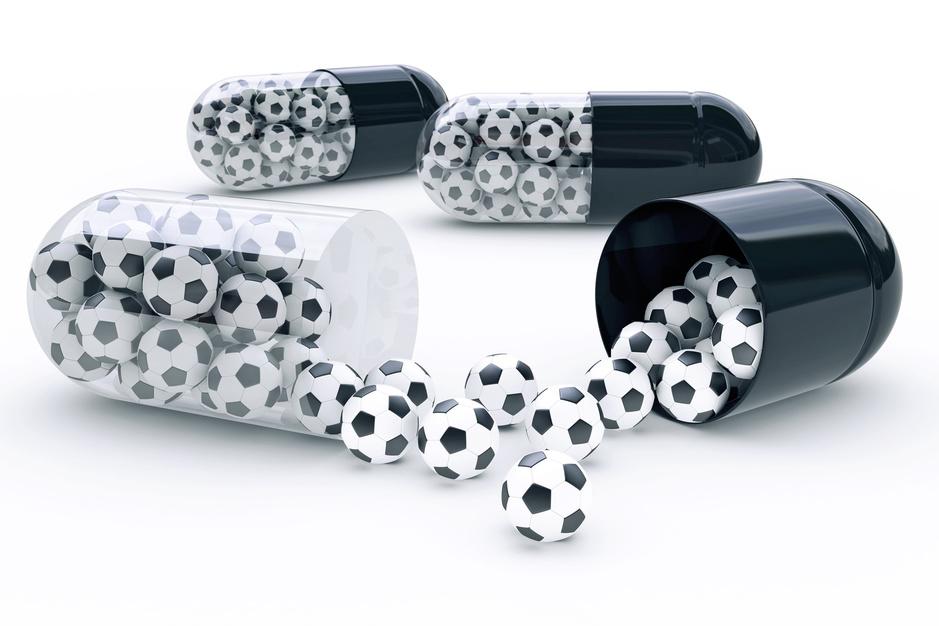 Het voetbal heeft een probleem met pijnstillers