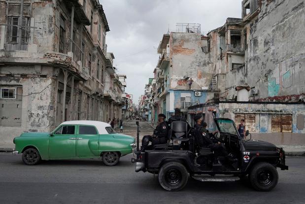Meer dan 5.000 mensen opgepakt in Cuba