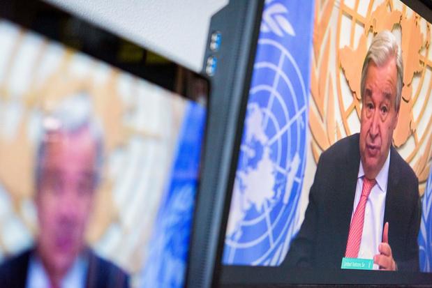 """Selon l'ONU, le coronavirus révèle """"la fragilité de notre monde"""" inégalitaire"""