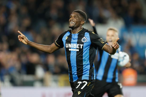 Club Brugge blijft steken op 1-1 gelijkspel tegen stug OHL