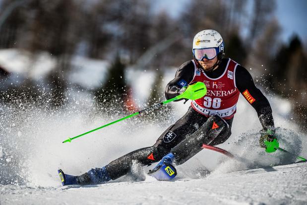 Armand Marchant signe le meilleur résultat d'un skieur belge en Coupe du monde
