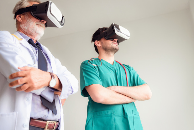 'Revolutie door longkankeroperatie met VR-bril'