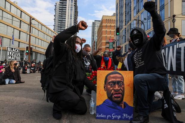 Duizenden protesteren aan vooravond proces tegen agent die George Floyd dooddrukte