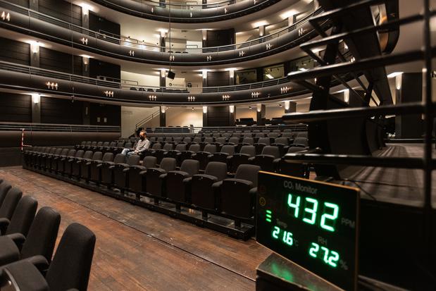 Un premier événement test au Théâtre royal flamand