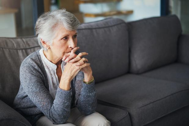 Thuiswonende senioren zijn angstiger over de toekomst