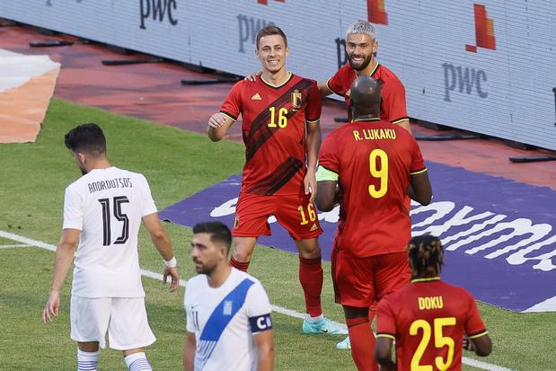 Duivels kunnen na moeilijke wedstrijd niet winnen van Griekenland