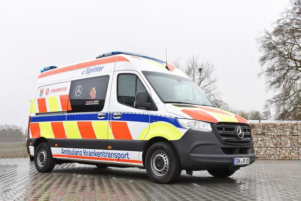 Mercedes-Benz propose sa première ambulance électrique