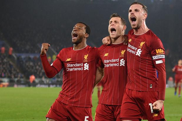 Liverpool wint eerste landstitel in dertig jaar tijd