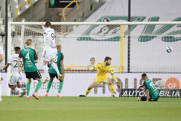 Eupen wint bij Cercle Brugge en komt naast Club Brugge aan de leiding