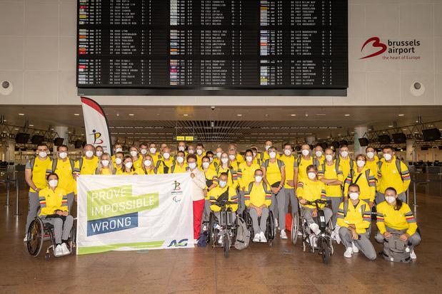 Jeux paralympiques: les 32 athlètes belges visent au moins 10 médailles