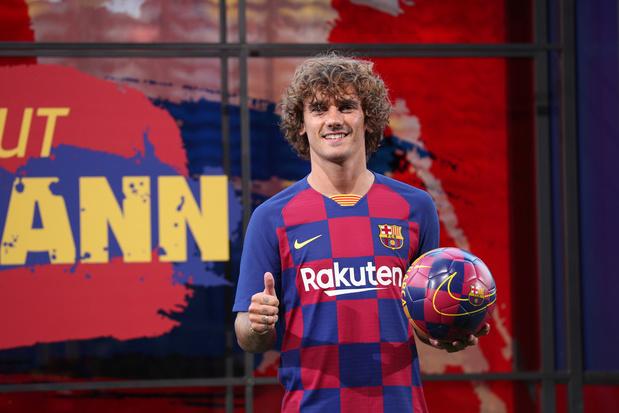Griezmann est le nouveau numéro 17 du Barça et regrette la réaction de l'Atlético