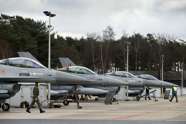 Des F-16 belges chargés de la défense aérienne des pays baltes pour huit mois