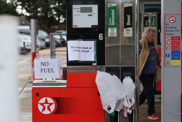 Verenigd Koninkrijk zet vanaf maandag leger in voor bevoorrading tankstations