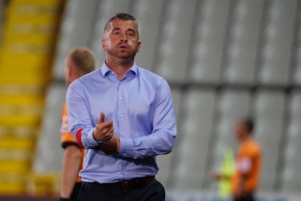 Adnan Custovic est le premier entraîneur remercié de la saison à Waasland-Beveren