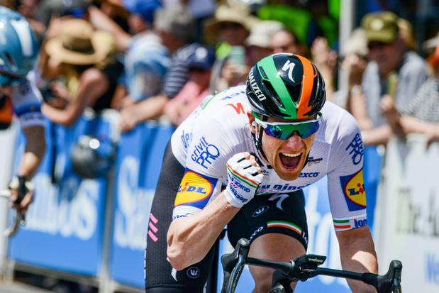 Eerste koers, eerste overwinning voor Bennett bij Deceuninck-Quick Step in Tour Down Under