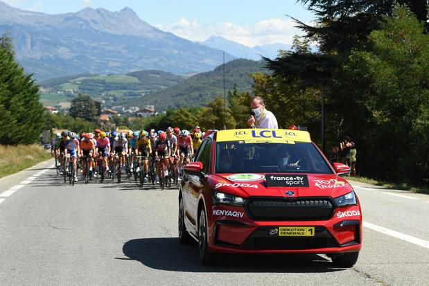 SKODA est le partenaire principal officiel du Tour de France pour la 18e fois