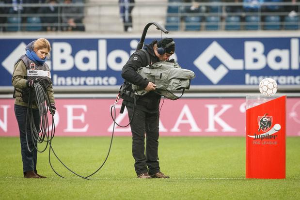 Eleven Sports détenteur exclusif des droits TV du football belge jusqu'en 2025