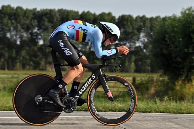 Mondiaux de cyclisme: Alec Segaert arrache la médaille de bronze dans le contre-la-montre des juniors