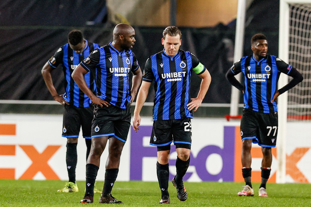 Gehavend Club Brugge Europees uitgeschakeld na thuisnederlaag tegen Dinamo Kiev
