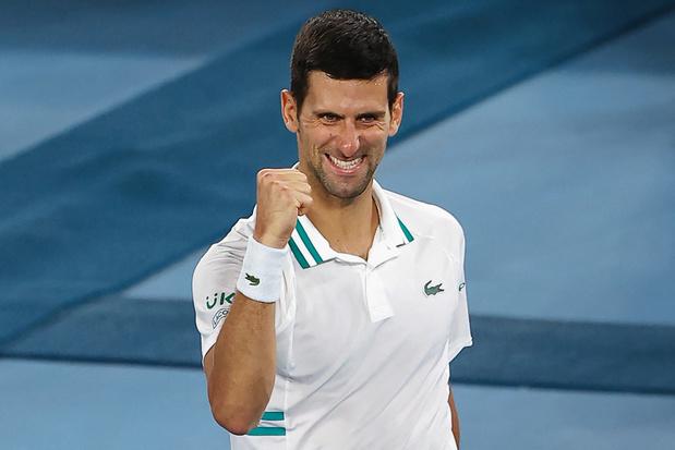 Open d'Australie: Djokovic en finale pour la 9e fois et pour un 9e titre