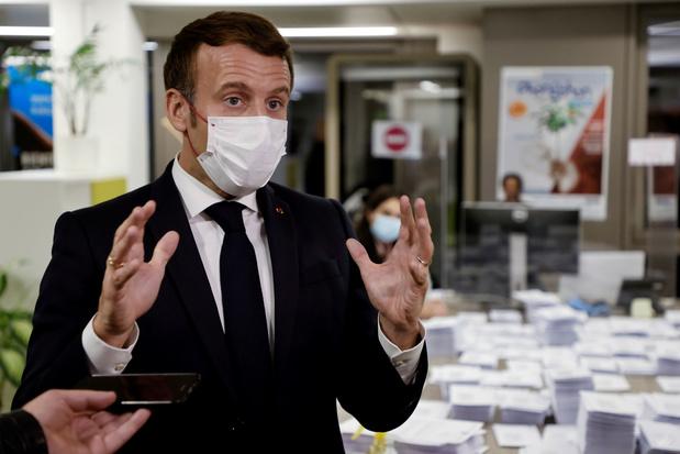 Macron: winkels kunnen zaterdag open, lockdown op 15 december opgeheven