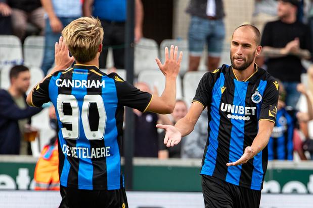 Le Club de Bruges partage l'enjeu contre Eupen en marquant à la 103e minute de jeu