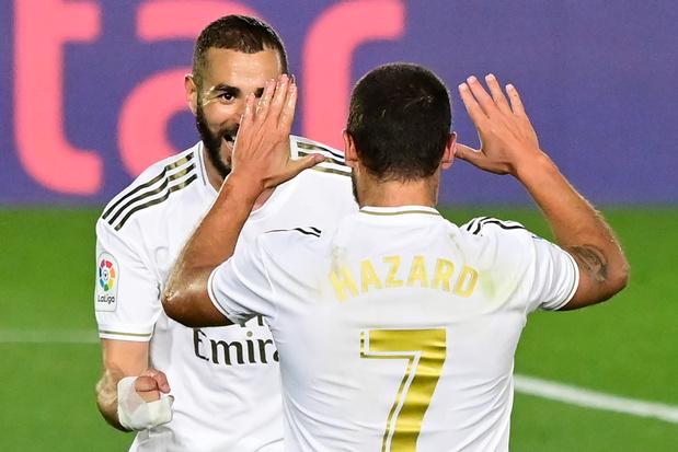 Hazard-Benzema, la connexion frappe encore au Real