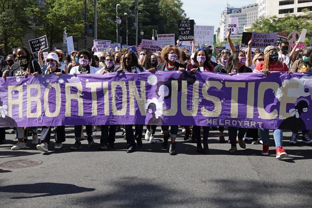 Duizenden betogen voor recht op abortus in VS
