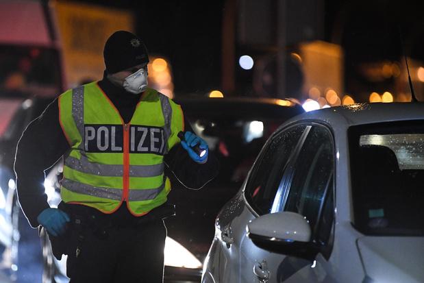 Pour endiguer la propagation du coronavirus, l'Allemagne filtre ses frontières