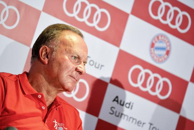 Le patron du Bayern Munich irrité par l'attitude de la Fédération française