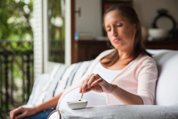 Depressie: belangrijkste risicofactor voor verslaving tijdens de zwangerschap