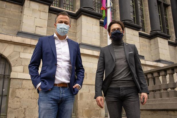 """L'interview conjointe Bouchez-Lachaert: """"Avec cette pandémie, les gens voient le prix de la liberté"""""""