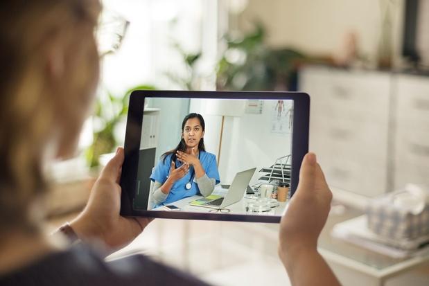 Consulter son médecin par webcam n'attire pas les Belges