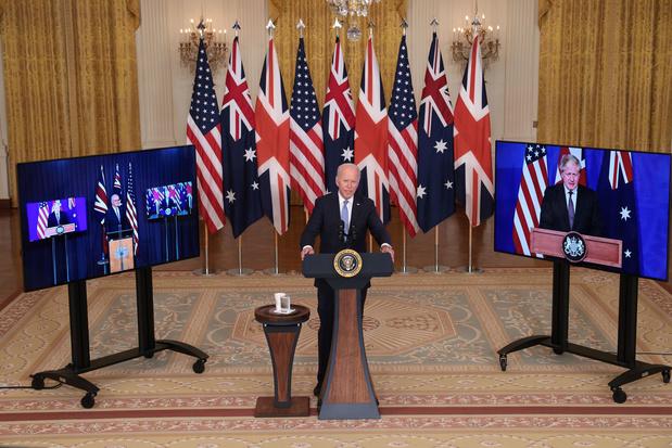 VS, VK en Australië sluiten veiligheidspact: Australië legt vloot onderzeeërs aan