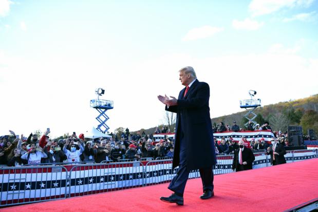 Trump waarschuwt opnieuw voor vertragingen en chaos